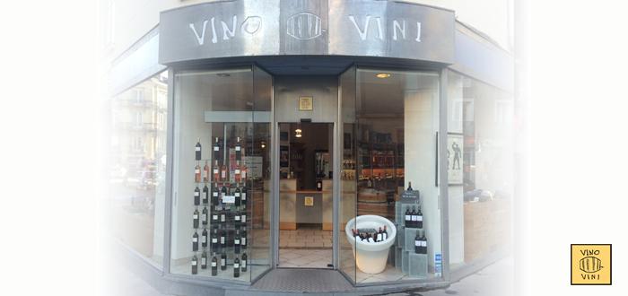 Vitrine vinovini à Nantes